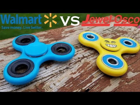 Walmart Fidget Spinner VS Jewel Osco Fidget Spinner.