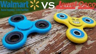 Walmart Fidget Spinner VS Jewel Osco Fidget Spinner.