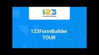Web Form Builder - 123FormBuilder - Product Tour