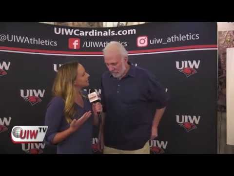 Spurs Head Coach Gregg Popovich Attends UIW Basketball Fundraiser