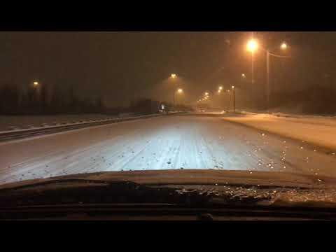 Dash Cam Ottawa Snow Storm