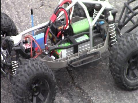 Castle Creations Sidewinder 8th (Parts 2) Test Run 2S, 3S, & 4S Lipo -  Vortex Hobbies
