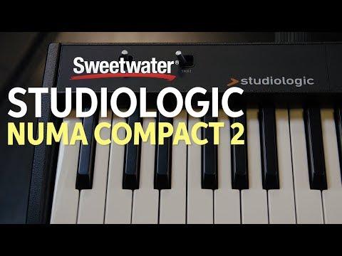 Studiologic Numa Compact 2 Stage Piano Demo