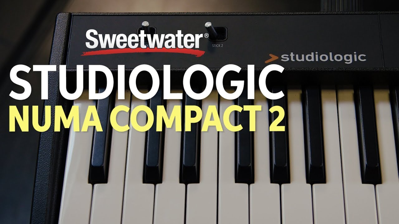 Studiologic Numa Compact 2 88-key Stage Piano | Sweetwater