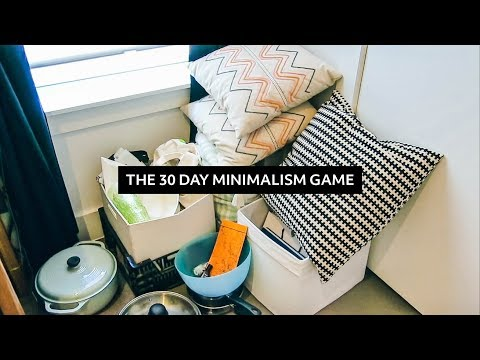 The 30 Day Minimalism Game: Everything I Decluttered & Reflections  |  Minimalist Home