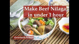 Beef Nilaga (Pressure Cooker Recipe)