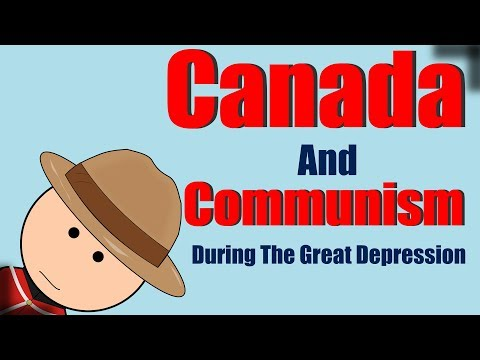 Canada And Communism During The Great Depression