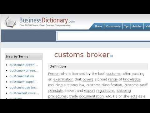 What Is A Custom Brokerage?