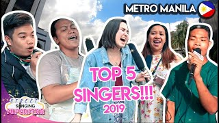 TOP 5 FILIPINO STREET SINGERS!!!
