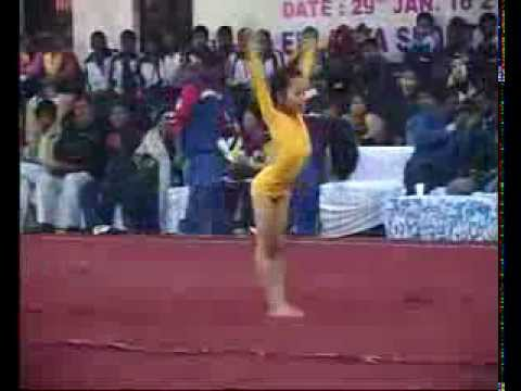 Young gymnasts from Manipur participate in national gymnastic championship at Agra