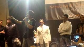 Baazigar Dialogue - Shahrukh Khan [srk] at Carnival 2009 Houston