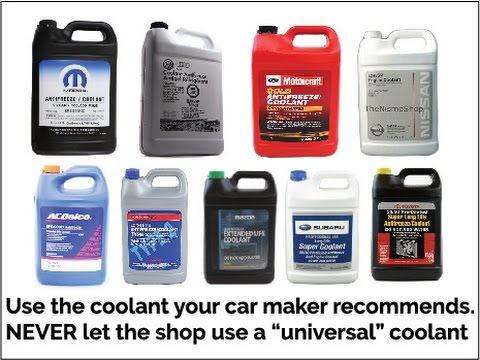 Can I Use Any Coolant In My Car?