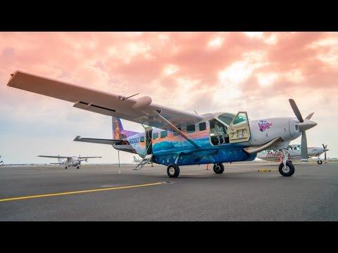 Hawaii Big Island Air & Night Manta Snorkel - Travel Couple Vlog