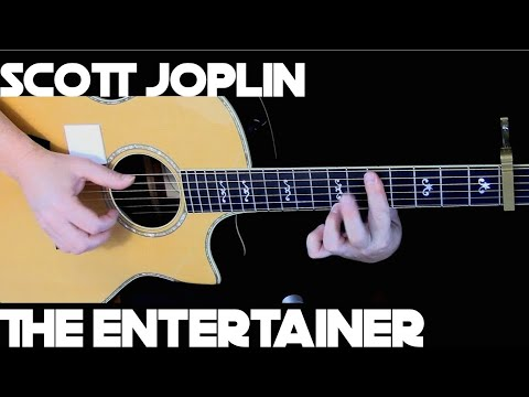 Kelly Valleau - The Entertainer (Scott Joplin) - Fingerstyle Guitar