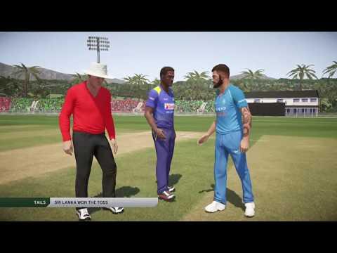 INDIA VS SRI LANKA 3RD ONE DAY INTERNATIONAL 2017 DON BRADMAN CRICKET 17