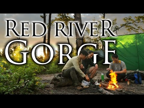 Red River Gorge in 4K | Bushcraft Backpacking, Hiking, and Hammock Camping in Daniel Boone NF