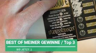 Special -- MEINE TOP 3 Gewinne bisher, WIN WIN WIN Rubbellose rubbeln