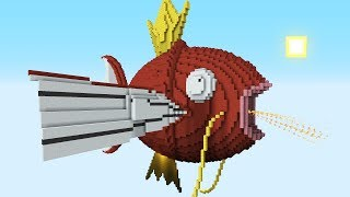 Minecraft vs Pokemon Go  | GIGA MAGIKARP!!