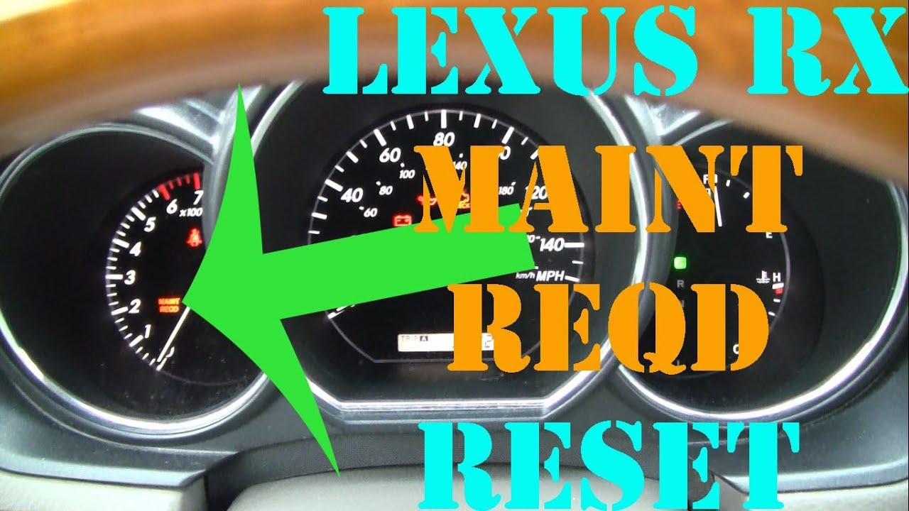 2005 Lexus Ls430 Maintenance Light Reset – Fondos de Pantalla