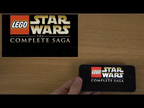 LEGO® Star Wars™: The Complete Saga iPhone 5S iOS 7.1 Beta 2 HD Gameplay Trailer