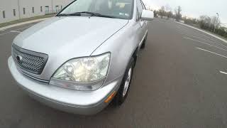 4K Review 2001 Lexus RX300 SILVERSPORT EDITION Virtual Test-Drive and Walk around