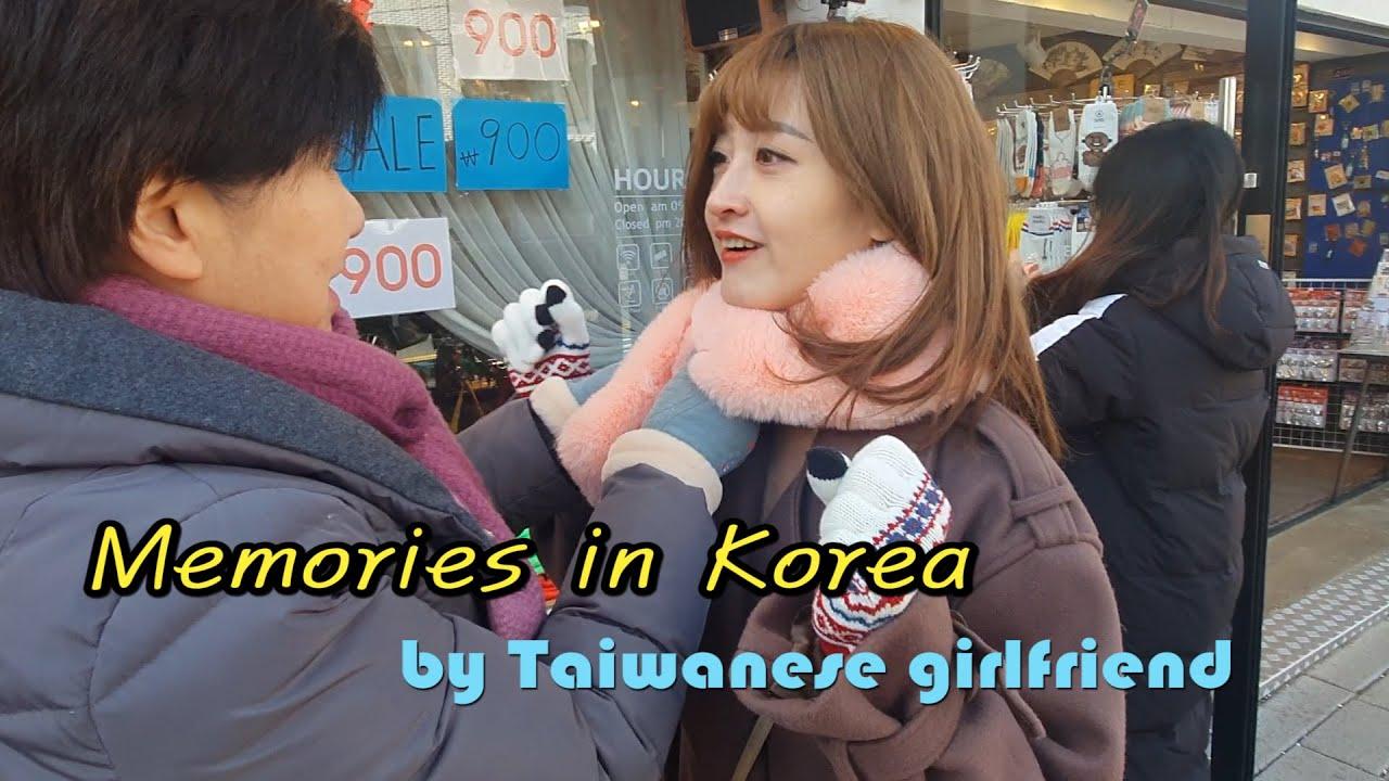 Taiwanese girlfriend missing Korea