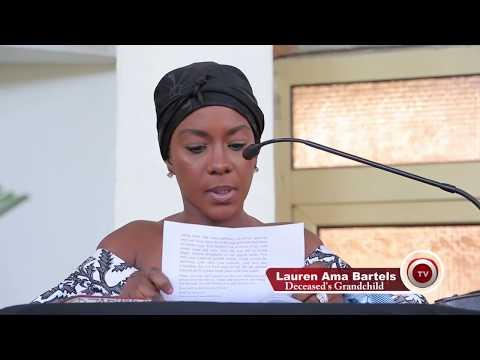 OBAAPANIN GRACE OSEI BURIAL IN GHANA