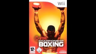 Showtime Championship Boxing - Nintendo Wii - WiiQUEST #025