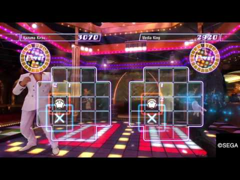 YAKUZA 0 Dragon of the Disco Vs. Disco King.