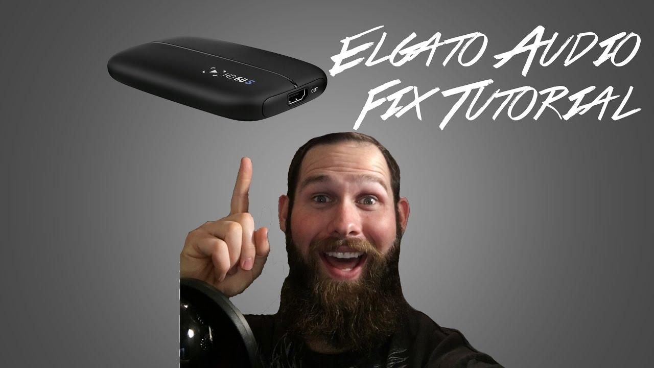 Elgato HD60S Sound FIX Tutorial!