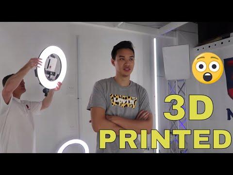 GETTING 3D PRINTED! | Miami Vlog