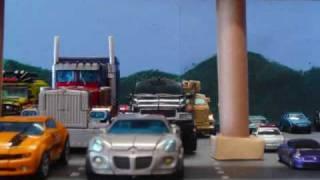 Transformers Stop motion Prime vs. Bone Crusher v2.0 Preview