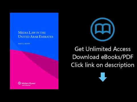 Download Media Law in the United Arab Emirates PDF