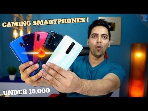 Best Budget Gaming🎮 Smartphones To Buy Under Rs.15,000 In India !