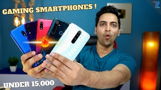 Best Budget Gaming???? Smartphones To Buy Under Rs.15,000 In India !