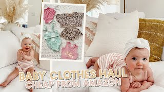 trying cheap amazon baby outfits + how i make thumbnails!