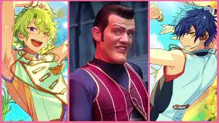 Ensemble Stars: Eve [Trap for You] x Lazy Town: Robbie Rotten [We a...