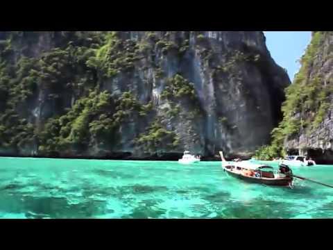Thailand Paradise at Phi Phi Island Maya Beach.mp4