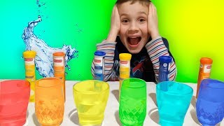 Learn Colors Baby with Max - Colours Vitamins for kids and children | Songs for toddlers