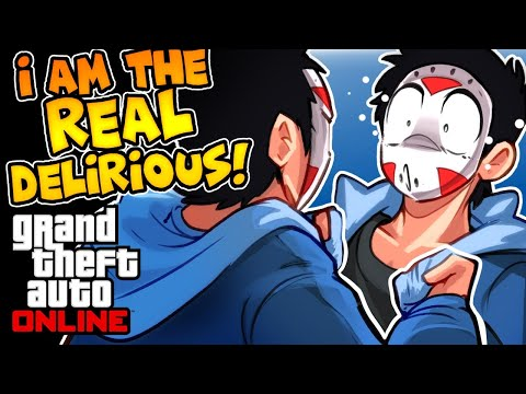 GTA 5 - I'M THE REAL DELIRIOUS!!! HACKER TURNS INTO ME! (Funny Moments & Hackers)