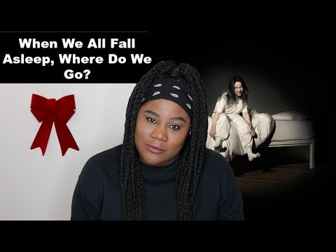 Billie Eilish - When We All Fall Asleep, Where Do We Go? Album |REACTION|