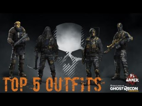 Ghost Recon Wildlands | 5 types Stealthy Outfits