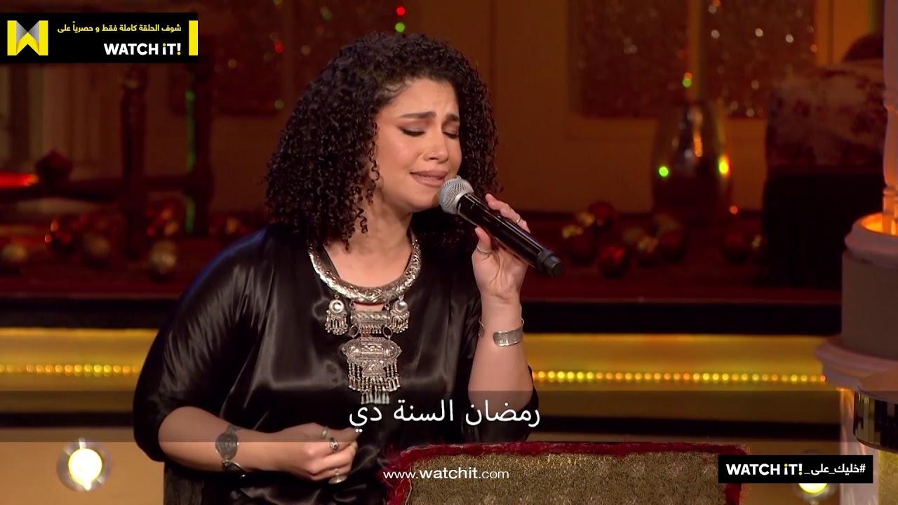ابلة فاهيتا   ساب كل حاجة وراح اكل وطواط    يهده