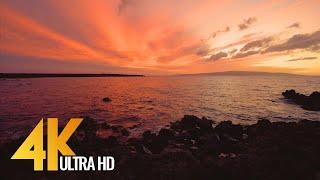 Baixar Sunset at Ahihi Bay, Maui, Hawaii - 4K Ocean View Relax Video - 3 HOUR