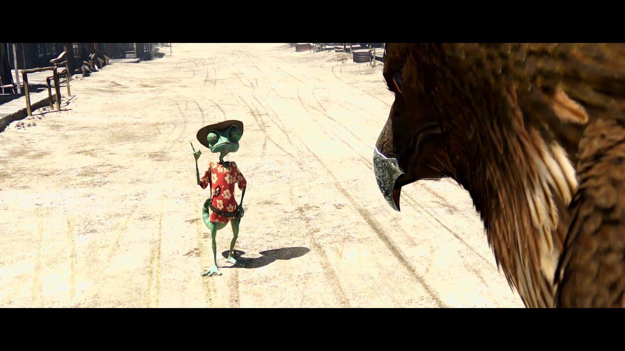 Download rango.the lizard kills a Egale. Rango(2011)