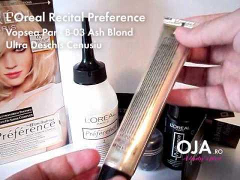 Vopsea Par Loreal Recital Preference простые вкусные домашние