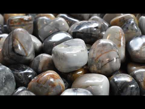 A Crystal For Attracting Positivity: Picasso Jasper Tumbled Stones