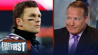 Eric Mangini: Patriots need to acquire a top WR to extend Brady's career   NFL   FIRST THINGS FIRST