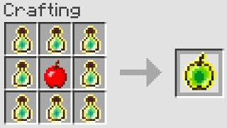 Minecraft UHC But You Can Craft Golden Apples From Any Block..