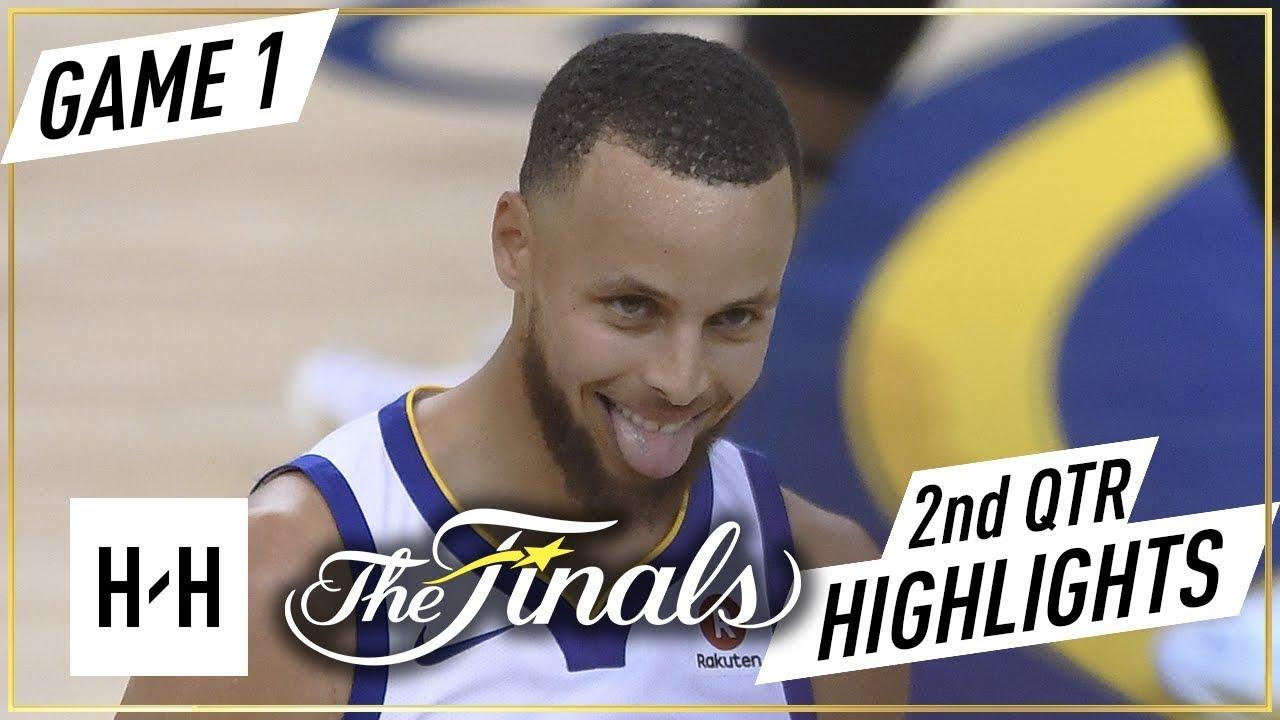 Cleveland Cavaliers vs Golden State Warriors - Game 1 - 2nd Qtr Highlights | 2018 NBA Finals